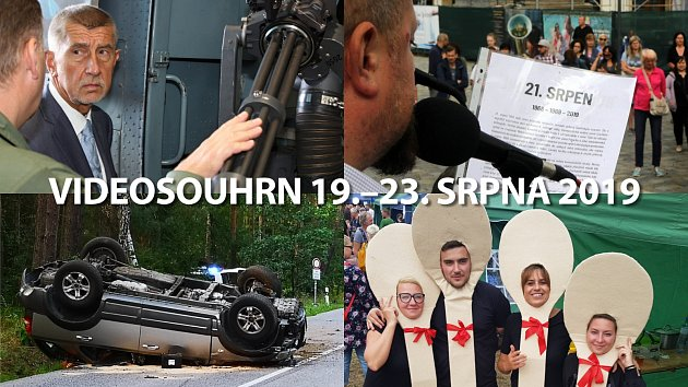 Videosouhrny Deníku – léto 2019