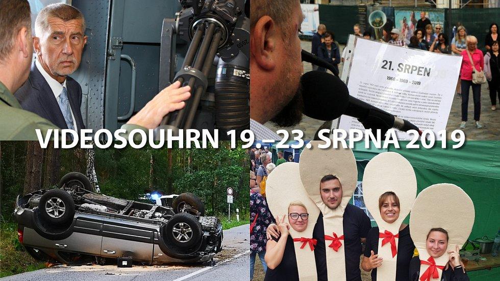 Videosouhrn 19.–23. srpna 2019