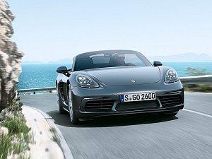 Porsche 718 Boxster.