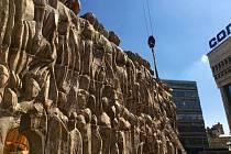 """Stavba ruské """"Zdi nářků"""" v Moskvě"""