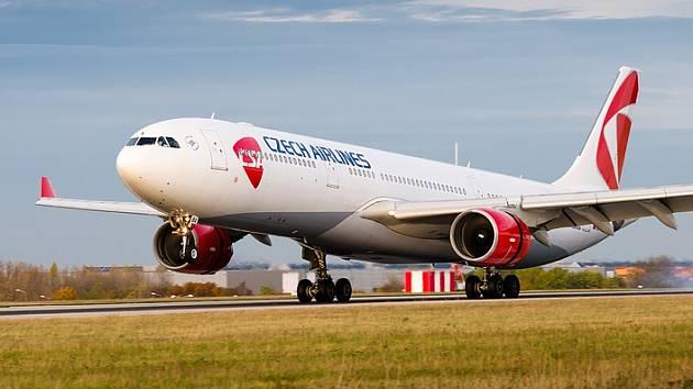 Airbus A330 z flotily ČSA