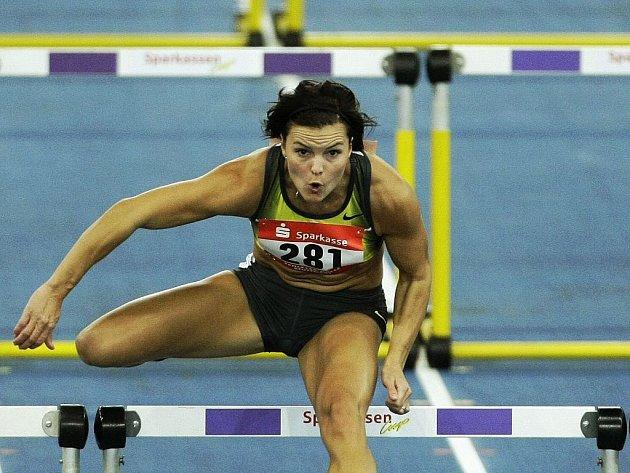 Švédka Susanna Kallurová zaběhla světový rekord na 60 metrů překážek.