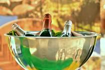 Šampaňské. Ilustrační snímek