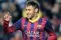 Svůj střelecký účet rozšířil o dva góly. Neymar režíroval výhru Barcelony nad Celtou Vigo.