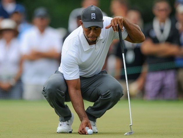 Tiiger Woods neprošel na na turnaji v Bethesdě cutem.