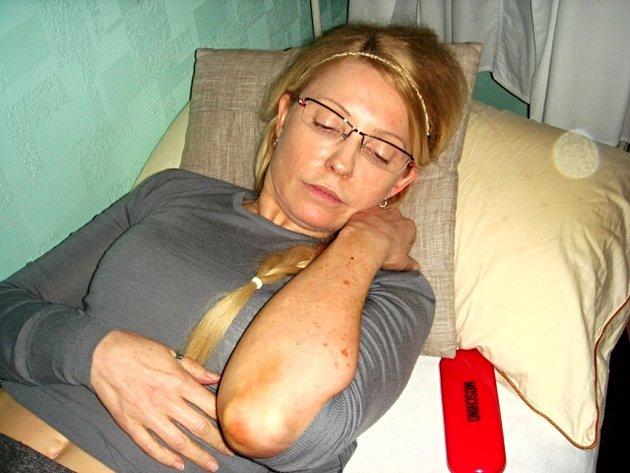 Vězněná ukrajinská expremiérka Julija Tymošenková.