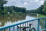 Cyklovýlet podél řeky Moravy od Hodonína až za Bratislavu