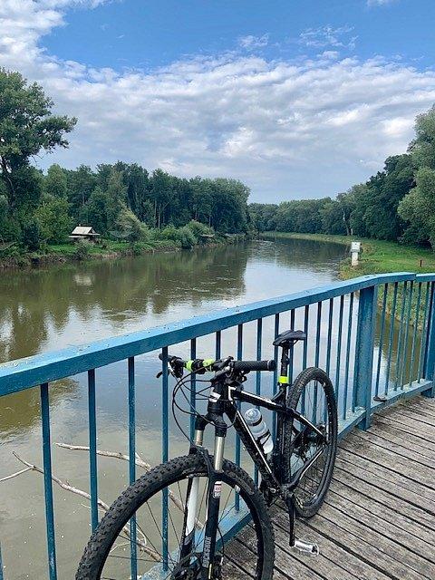 Cyklovýlet podél řeky Moravy od Hodonína až na Slovensko-Rakouské pomezí