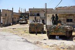 Po provincii Dará získali syrští vojáci od povstalců také Kunejtru.