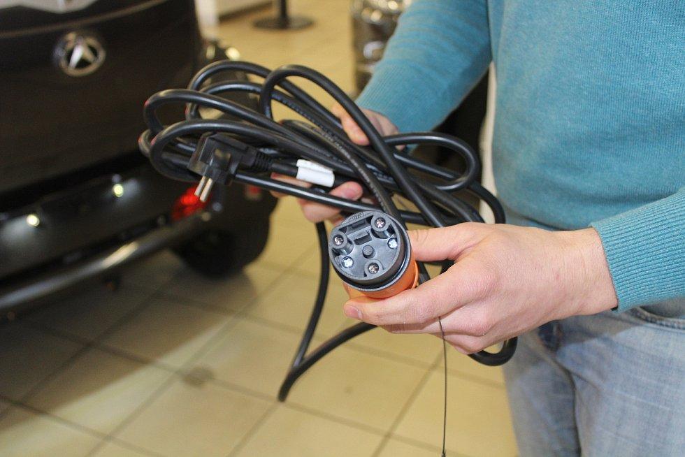 Příslušenství pro nabíjení elektroauta