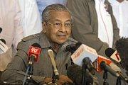 Nový malajský premiér Mahathir Mohamad