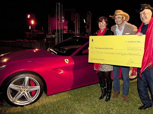 Aukce Ferrari F12 Berlinetta