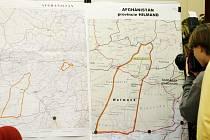 Na mapě je zakreslena oblast, ve které k tragickému atentátu došlo.