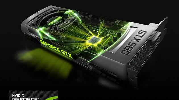 Grafická karta Nvidia GeForce 980.