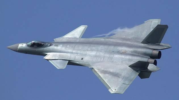 Nový čínský stíhač J-20