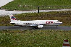 Letadlo ČSA. Ilustrační foto.