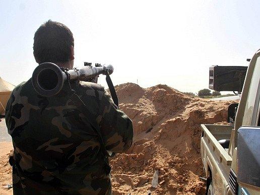 Násilí v Libyi. Ilustrační foto.