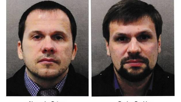 Alexandr Miškin a Anatolij Čepiga používali pasy na jména Alexander Petrov a Ruslan Boširov.