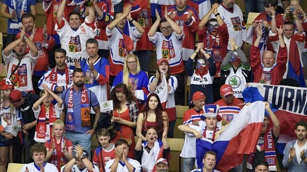 Čeští fanoušci na světovém šampionátu v Dánsku