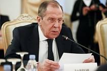 Ruský ministr zahraničí Sergej Lavrov na snímku ze 21. ledna 2020