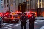 Požár budovy Trump Tower na Manhattanu