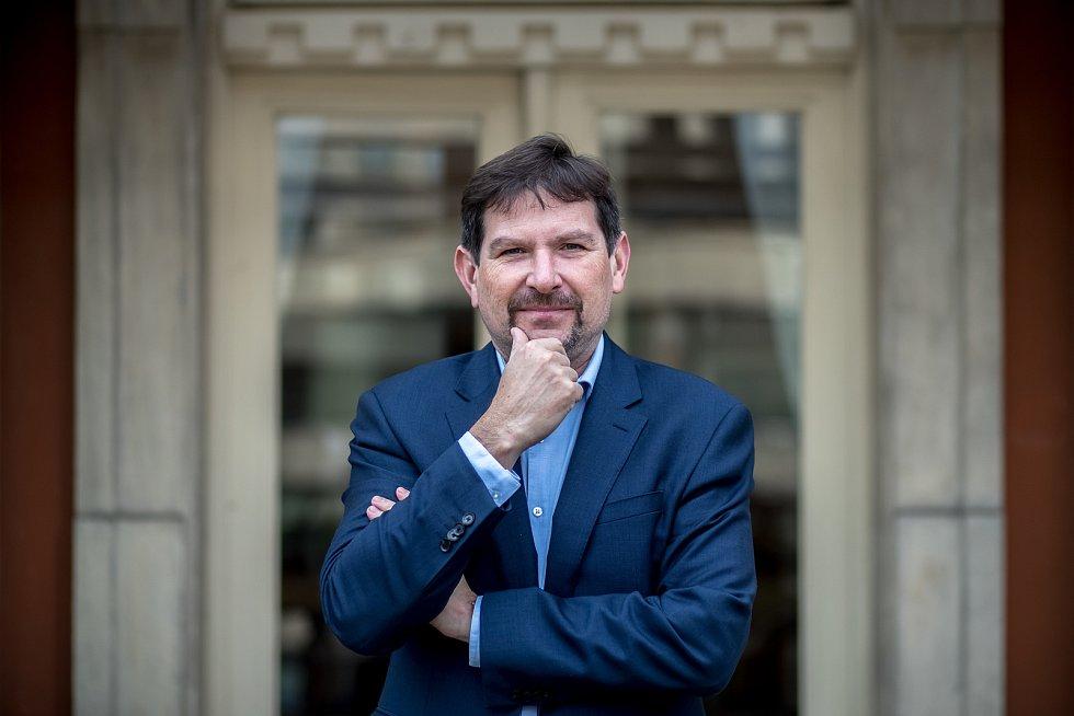 Rektor Masarykovy univerzity Martin Bareš