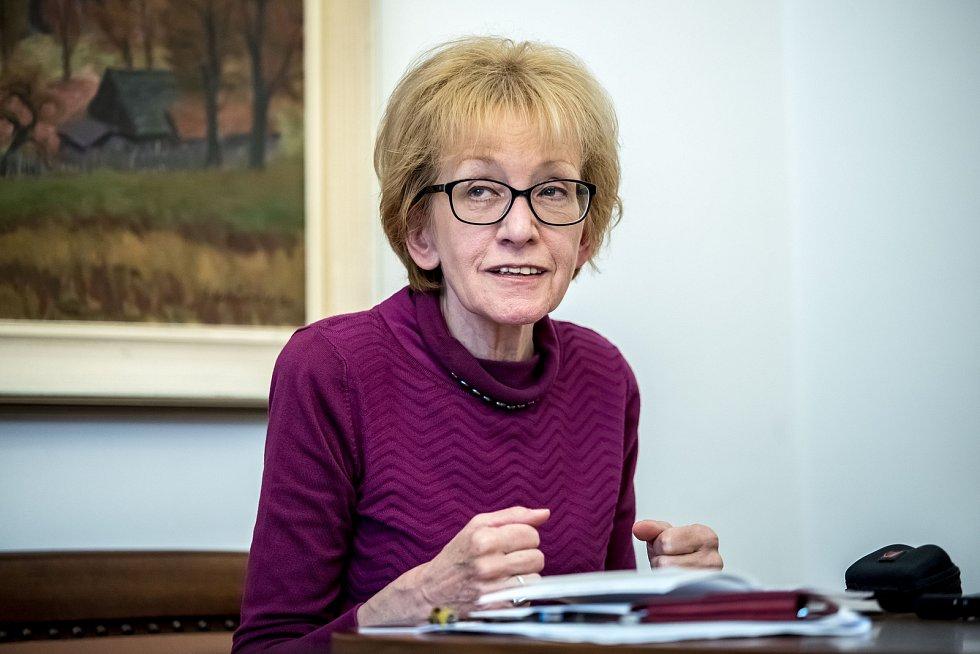 Helena Válková poskytla 14. října v Praze rozhovor Deníku.