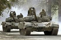 Ruské tanky - Ilustrační foto
