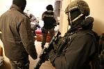 Zásah slovenské policie proti obviněným v kauze vraždy Ladislava Basternáka
