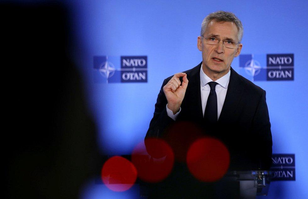Generální sekretář NATO Jens Stoltenberg