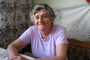 Alžběta Dostálová (Morgensternová), září 2010 Mohelnice.