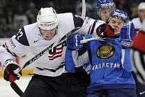 Hokejisté USA rozstříleli Kazachstán.