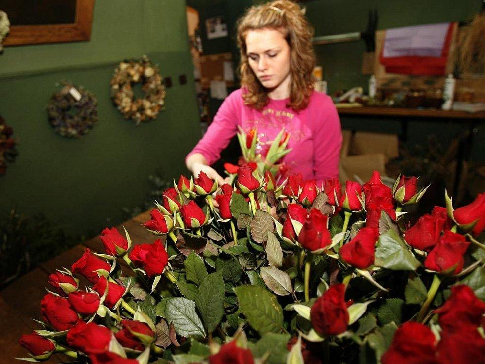 Co na svátek sv. Valentýna? Růže