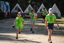 Dětský tábor v Borovanech