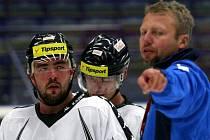 Trénink. Hokejisté Vítkovic se připravují na novou sezonu