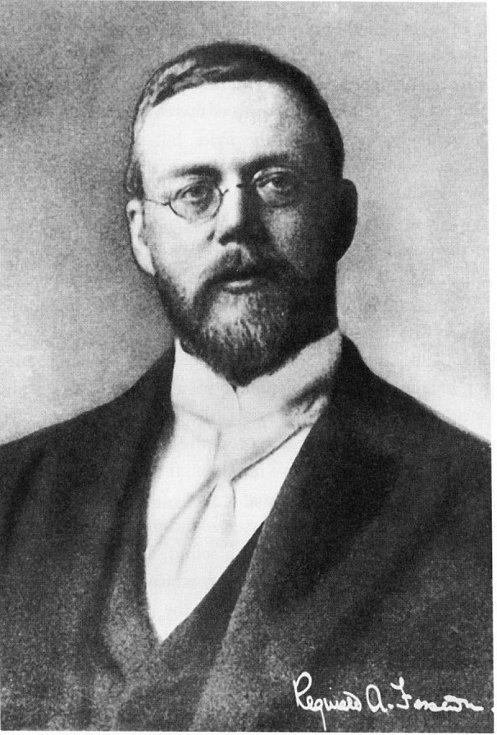 Vynálezce rozhlasového vysílání Reginald A. Fessenden