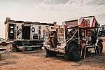 Aleš Loprais a jeho Instaforex Loprais Team při přípravě na Rallye Dakar