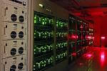 Superpočítač, který používá ALMA jako korelátor.