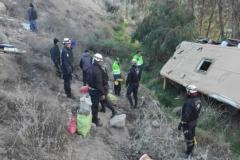 Nehoda autobusu v Peru