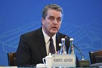 Šéf Světové obchodní organizace (WTO) Roberto Azevedo.