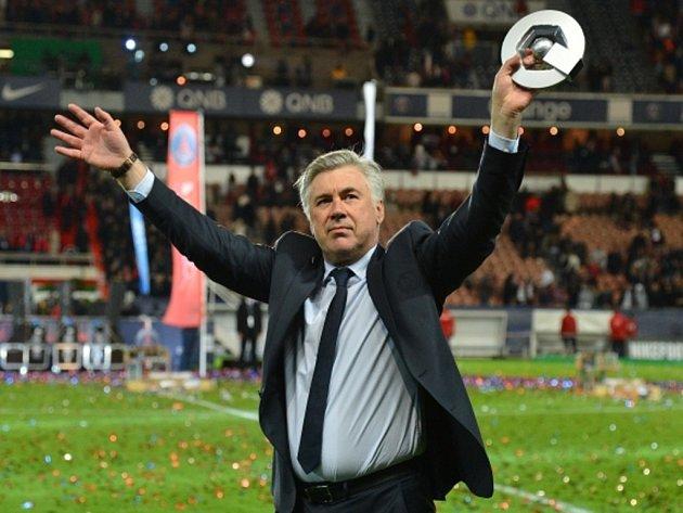 Slavný trenér Carlo Ancelotti.