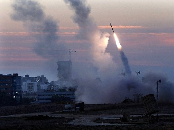 Boje v Gaze. Ilustrační foto