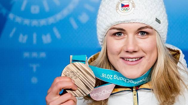 Karolína Erbanová s bronzem