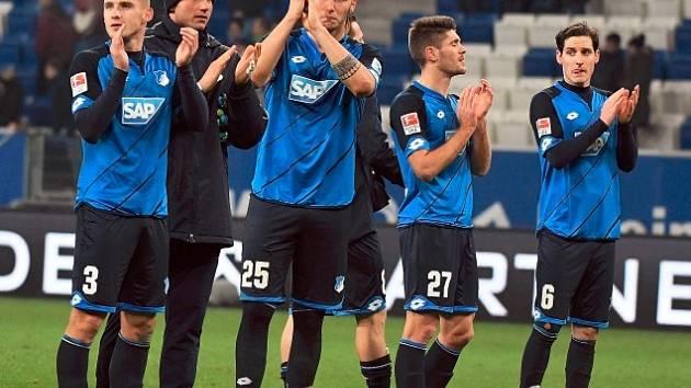 fotbalisté Hoffenheimu