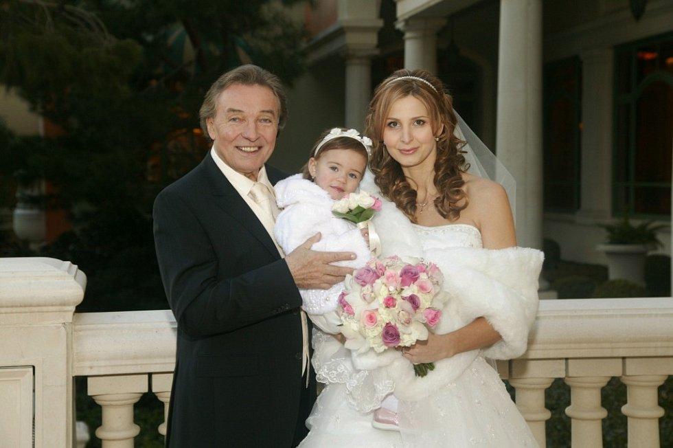 Svatba Karla Gotta