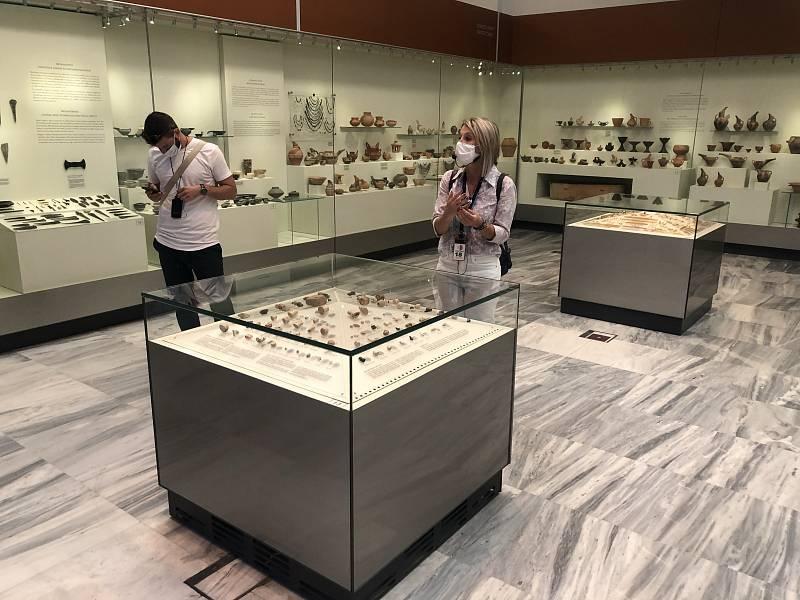Dovolená na Krétě. Návštěva muzea.
