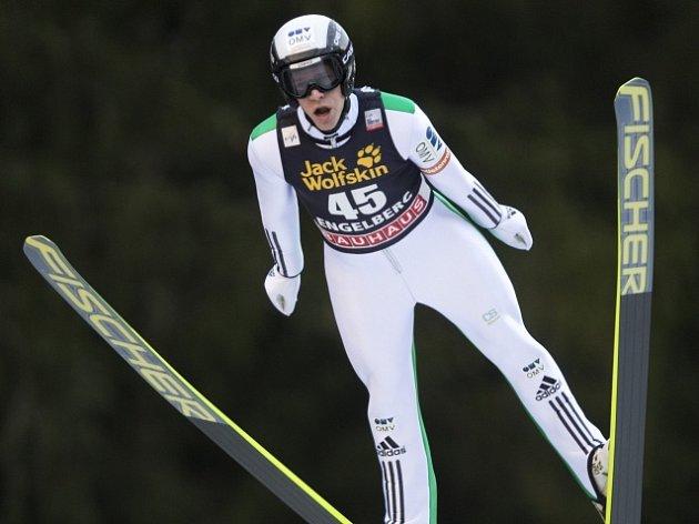 Roman Koudelka při letu