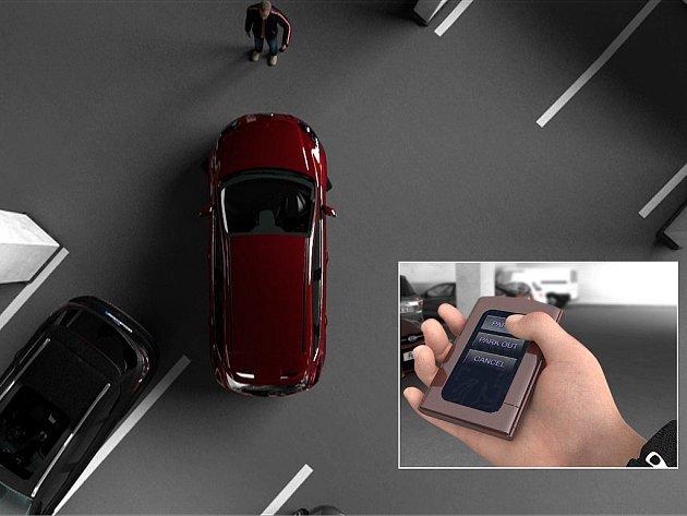 Stačí stisknout tlačítko a Ford sám zaparkuje. A ani v něm nemusíte sedět.