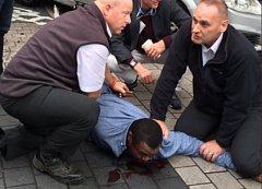 Útočník, který najel do lidí před Přírodopisným muzeem v Londýně
