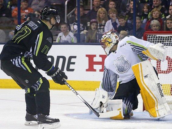 Utkání hvězd NHL: Radim Vrbata v akci